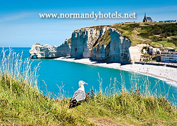 Shoreline at Etretat